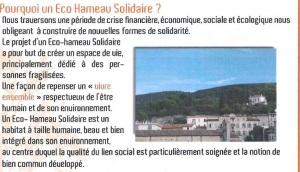 Ecohameau 2014
