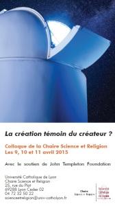 2015 Colloque Création