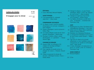Cahier de l'Atelier 544