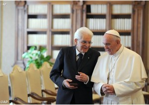 pape président italien