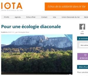 2015 Ecologie diaconale