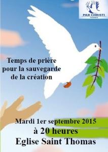 2015 Pax Christi Reims Prière