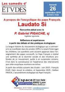 2015 Laudato si Jésuites Lyon