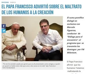 2015 Milenium radio pape