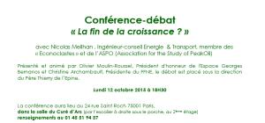Conférence Croissance