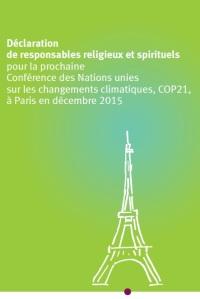 2015 Climat 154 responsables religieux