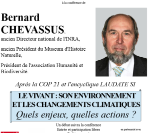 2016 Chevassus conférence