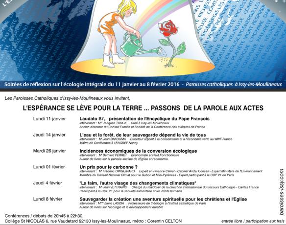 2016 Conférences Issy les Moulineaux