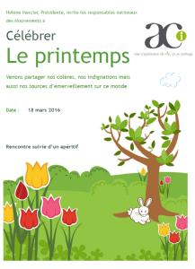 2016 ACI Printemps