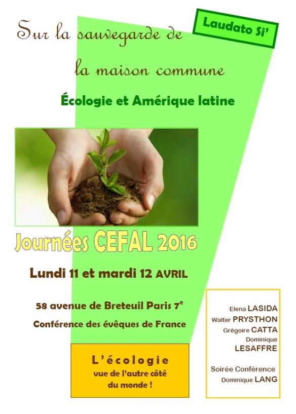 2016 Conférence CEFAL