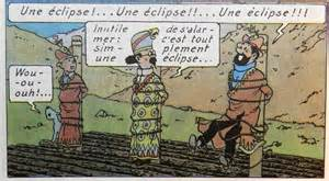 Eclipse tintin