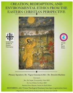 2017 ECOLOGIE Orthodoxie 8 décembre