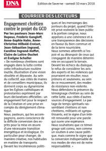 2018 ECOLOGIE Alsace CGO