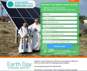 2018 ECOLOGIE Eglises Journée de la terre