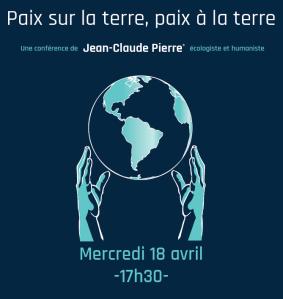 2018 ECOLOGIE Eglises Pierre Jean Cluade