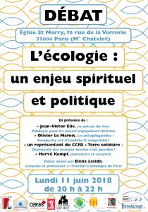 2018 ECOLOGIE Eglise St Merry Juin
