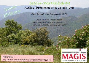 2018 ECOLOGIE Eglise session magis