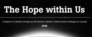 2018 ECOLOGIE Eglise 2018 Canada Catholique Eglise Unie