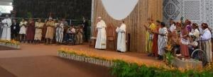 2018 ECOLOGIE Eglise pape François autochtones
