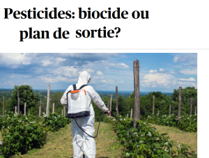 2018 ECOLOGIE Pesticides