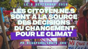 2018 ECOLOGIE Rise for the climate
