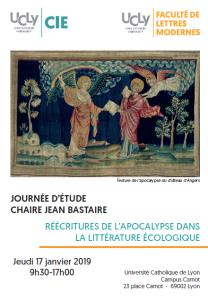 2018 ECOLOGIE Eglise Apocalypse Lyon
