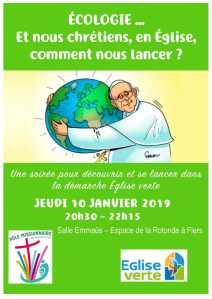 Pape François label Eglise verte