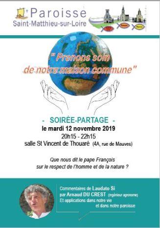thumbnail_Conference Laudato si Arnaud paroisse St Matthieu