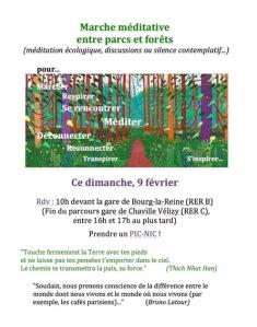 2020 EGLISES et ECOLOGIES Février Marche